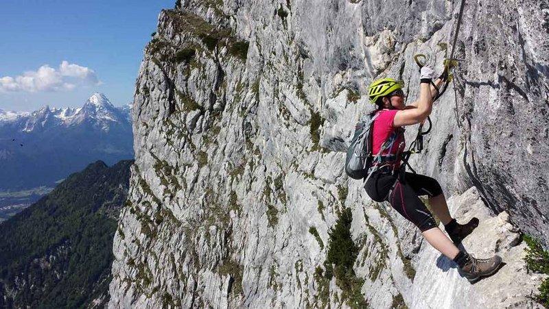 Klettersteig Rakousko : Klettersteig salzburgs beste bergführer