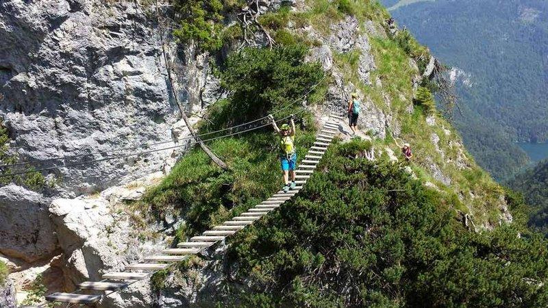 Klettersteig Jenner : Klettersteig salzburgs beste bergführer
