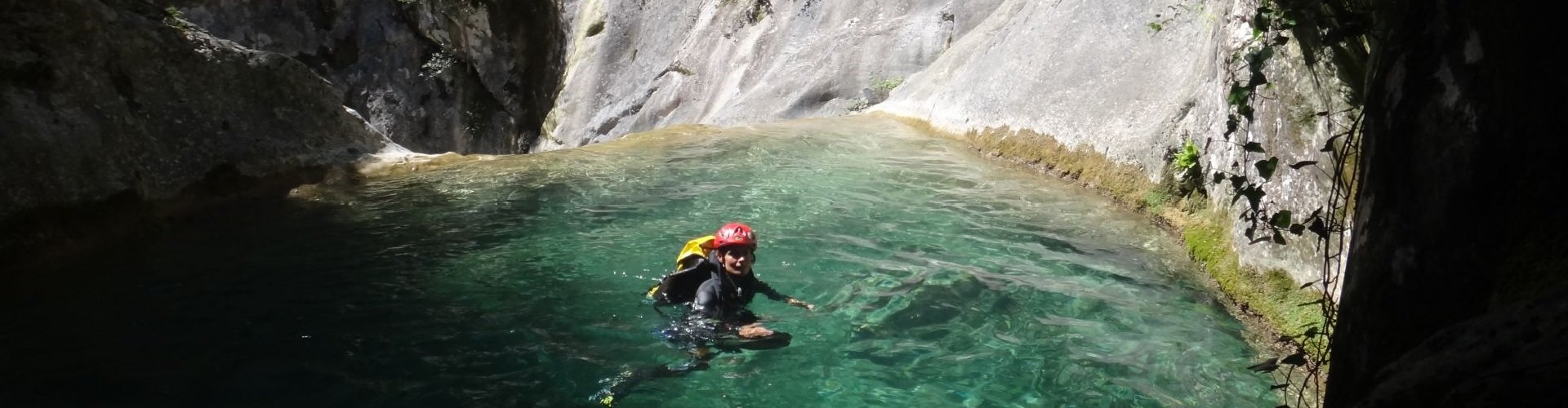 Canyoning Italien / Frankreich