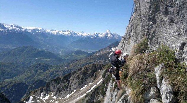 Intensivkurs Fels, Untersberg